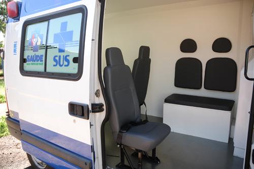 INTERNA 3 2 1 - Consultório na Rua da Região de Saúde Central ganha ambulância adaptada