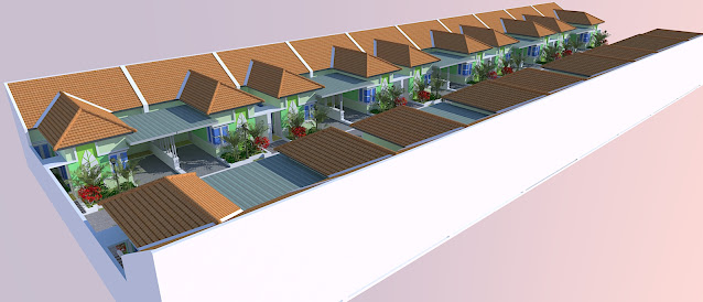 Hasil Rencana Townhouse