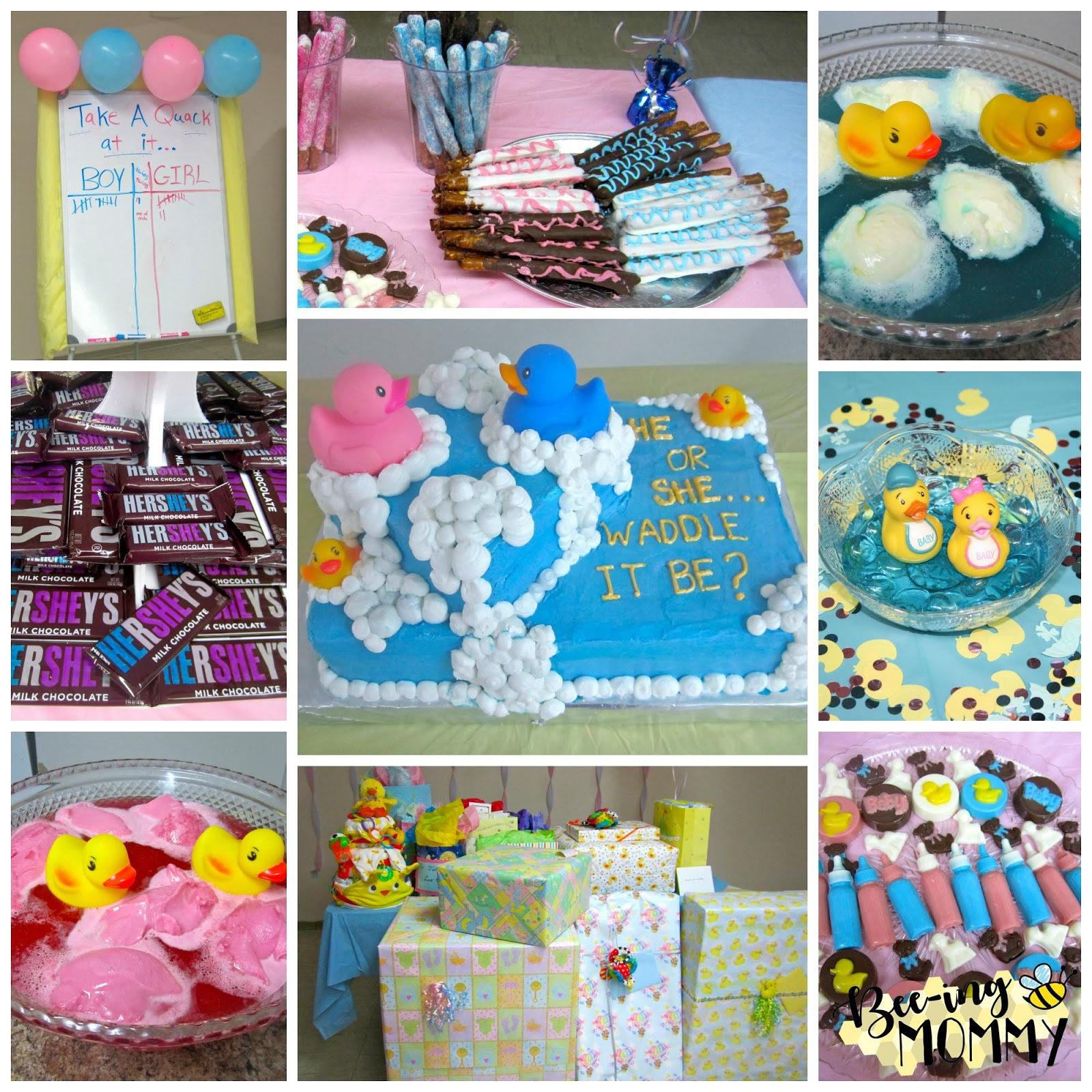 Gender Reveal Baby Shower, Waddle It Be?, Waddle It Be Baby Shower,