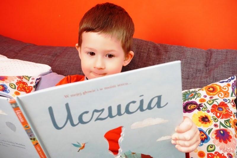 moje dziecko ma focha, książka uczucia zielona sowa