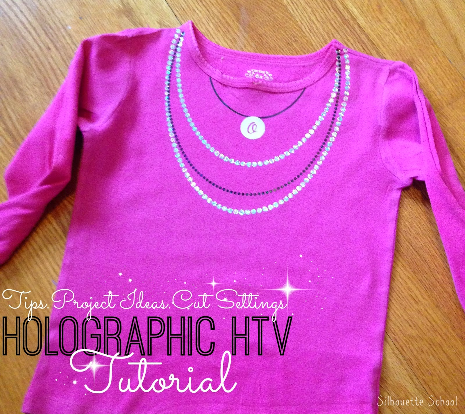 holographic, heat transfer vinyl, HTV, Silhouette Studio, free cut file