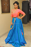 Nithya Shetty in Orange Choli at Kalamandir Foundation 7th anniversary Celebrations ~  Actress Galleries 081.JPG