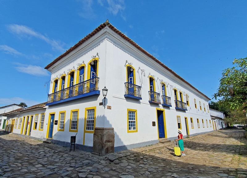 Paraty onde se hospedar no centro Histórico
