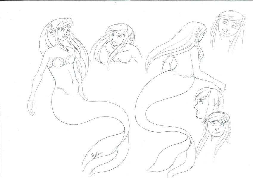 [En pause][Projet BD] La petite sirène Sirene_recherche02