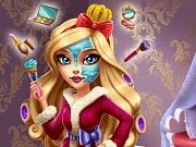 Being the daughter of the fairest of them all takes up a whole princess beauty routine to get the perfect look. Join Apple White in the Ever After High salon for a spelltacular makeover. Find out what creams and masks our princess uses and then create a new look with colorful makeup palettes. Dress her up in couture outfit and she'll be ready for another eventful day at Ever After High.