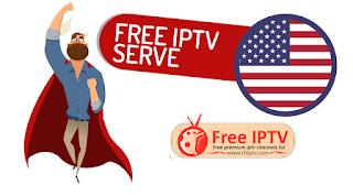 FREE IPTV List Premium USA HD/SD Channels M3U Playlist 22-7-2019