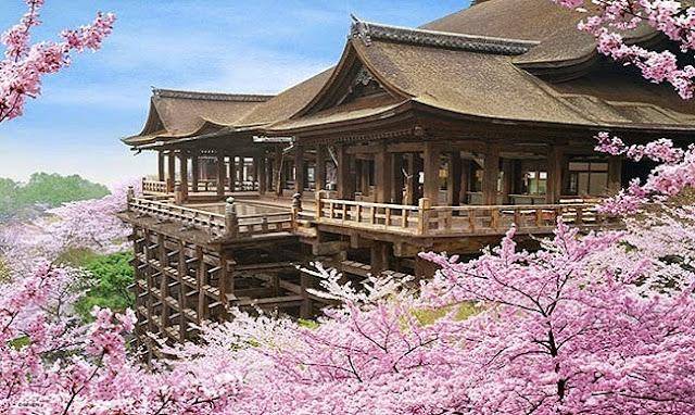 Chùa Thanh Thủy Cố Đô Cổ Xưa Của Nhật Bản