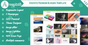 Avephto Blogger Template