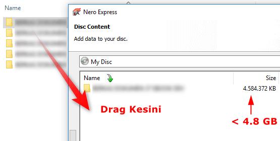 Cara Backup Data Menggunakan Nero