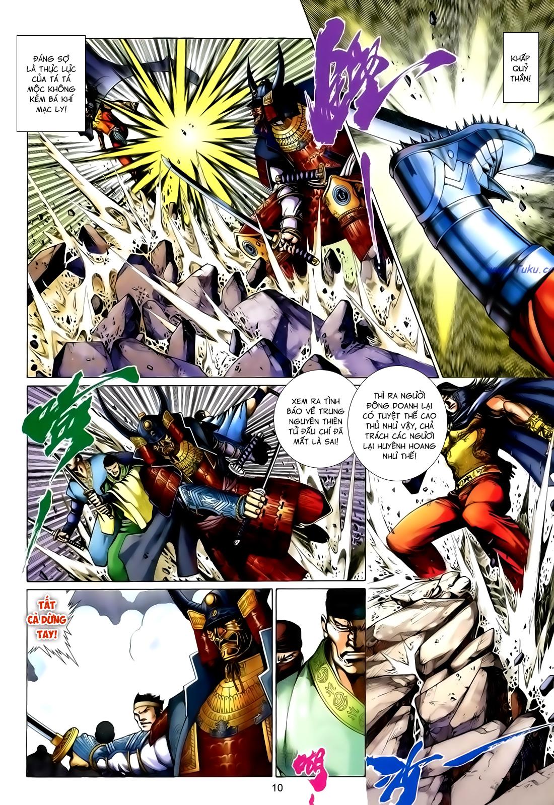Anh Hùng Vô Lệ Chap 167 - Trang 10