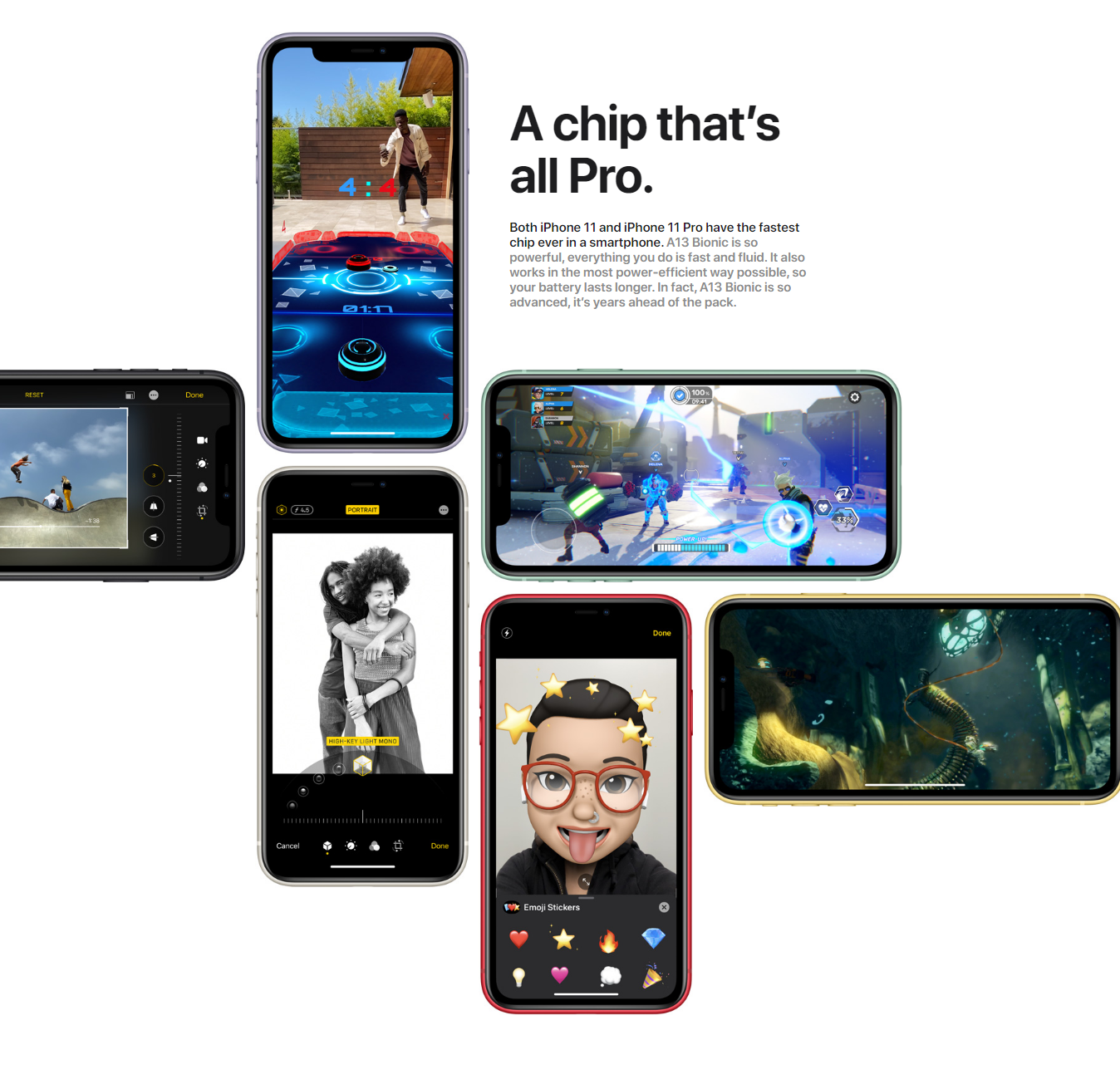 iPhone 11 iOS improved features
