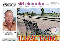 Tabloid Lelemuku #56 - Terkait Taman Kota Saumlaki - 30 Agustus 2021