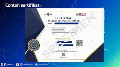 sertifikat hasil test skd cpns 2021