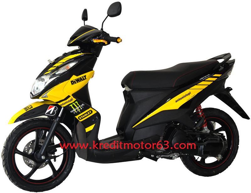 Modifikasi Motor Yamaha Xeon RC Custom