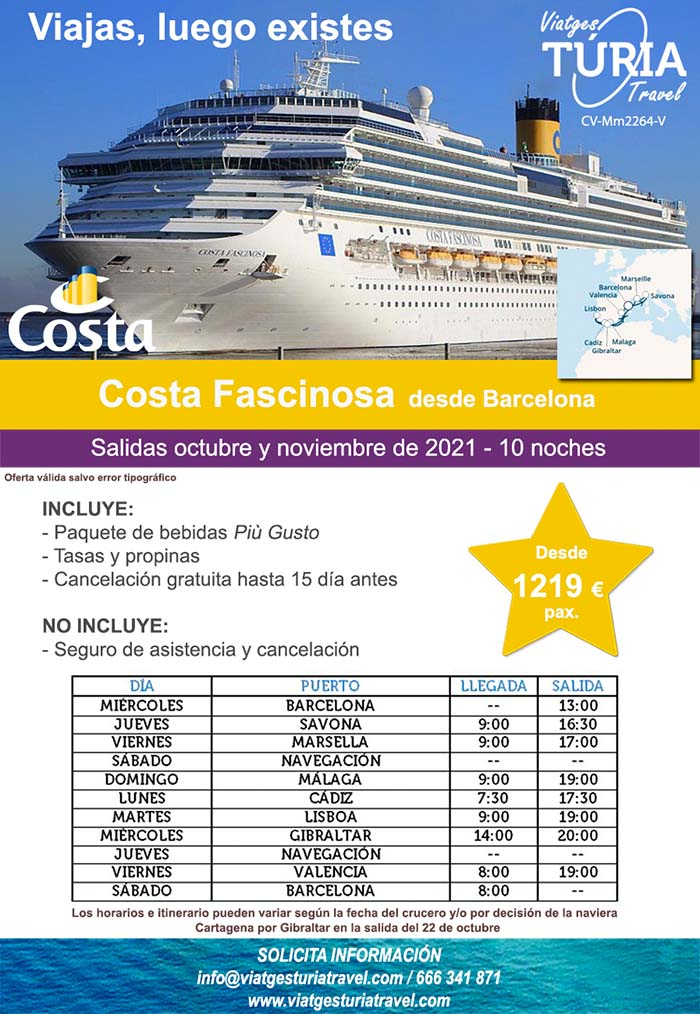 Barcelona - Cruceroviajes