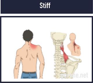 Stiff/kaku leher adalah Kelainan otot karena adanya peradangan otot trapesius leher akibat gerakan yang menghentak secara tiba-tiba/salah gerak.