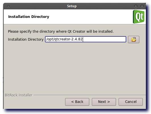 Instalacion de QT Creator 2 5 Beta - Librerias en Linux