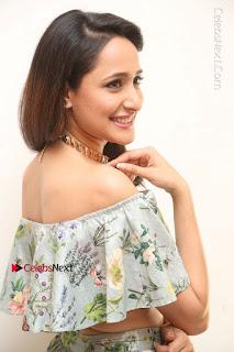 Actress Pragya Jaiswal Stills in Floral Dress at turodu Interview  0078.JPG