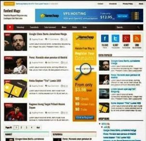 Fastest Magz V3 - SEO Fast Responsive Blogger Template