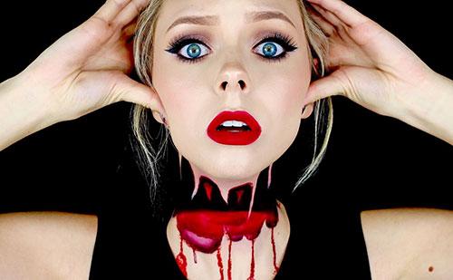 Sencillos trucos de maquillaje para Halloween
