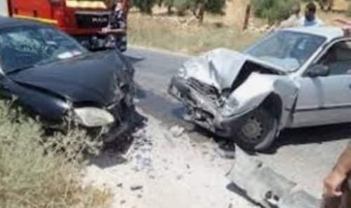 مصرع سيدة وإصابة 5 أخرين فى حادث تصام بإخميم فى سوهاج