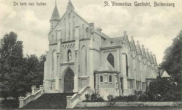 Gereja katedral di Jln Banten / Jln Kapten Muslihat
