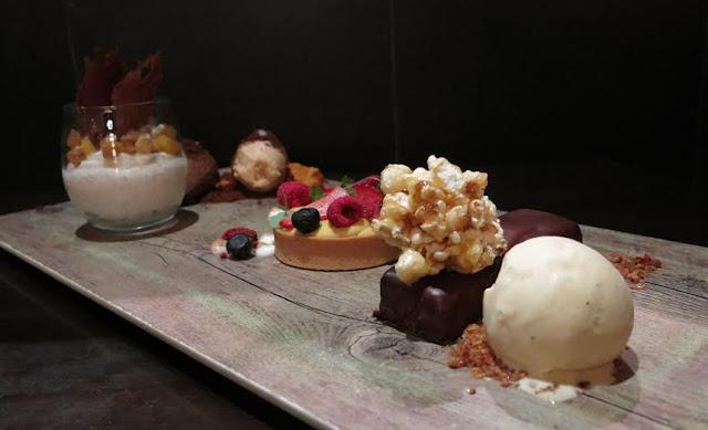 The Black Toro - dessert platter