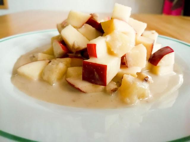 Receta: Ensalada de manzana con piña para Año Nuevo