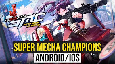 Nuevo Battle Royale Android/iOS😨🔥Descargar Super Mecha Champions Gratis