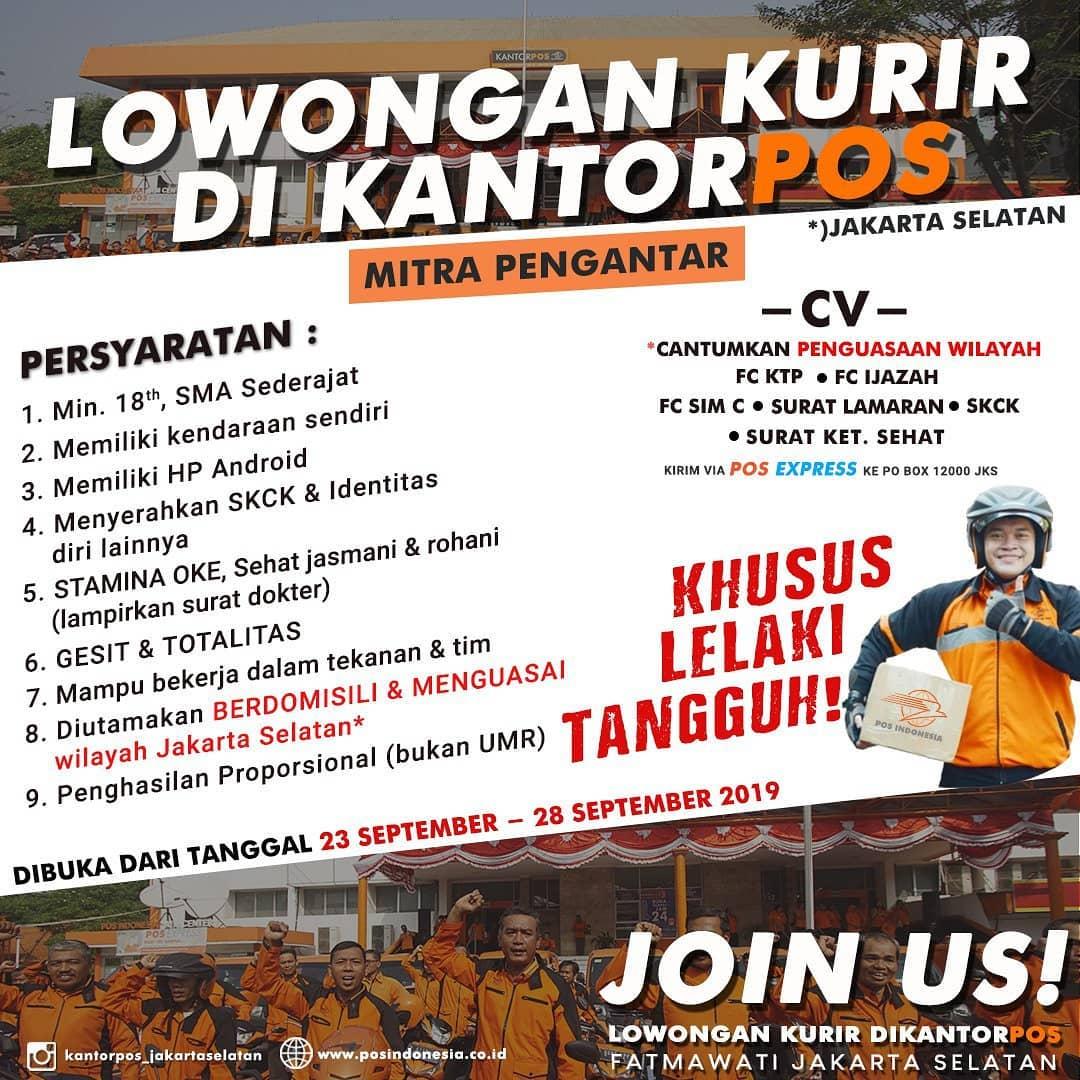 Lowongan Kerja Lowongan Kerja Sma Pos Indonesia Terbaru 2019