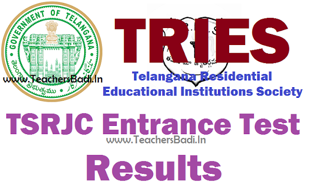 TSRJCCET,Results,TSRJC Results