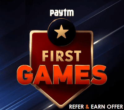 Paytm First Games: Earn Rs.50 Sign Up Bonus + 20 Free Points Per Refer