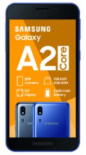Cara Hard Reset Samsung A2 Core SM-A260G/DS