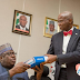 PHOTOS: Fashola Receives 20-year Transmission Master Plan From M.D (TCN)
