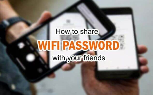 كيفية, مشاركة, كلمات, مرور, WiFi, من, الاندرويد, إلى, اندرويد