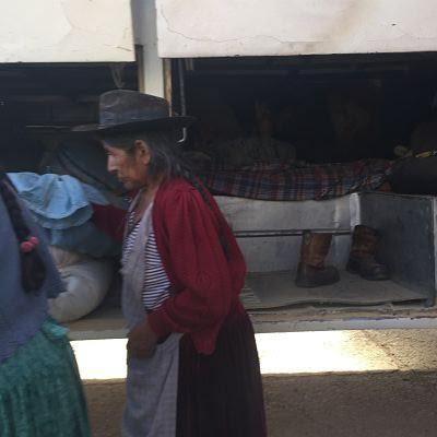 Bolivia. Bus de Samaipata a Sucre.