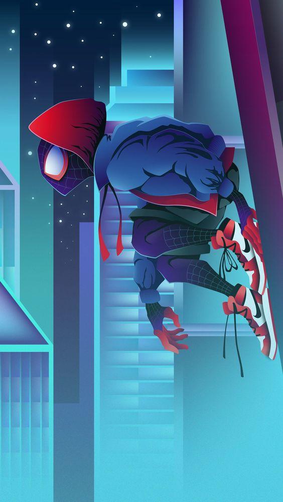 Wallpaper spiderman kartun