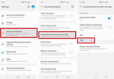 Cara Mengubah Format Screenshot Jpg ke Png di Hp Samsung
