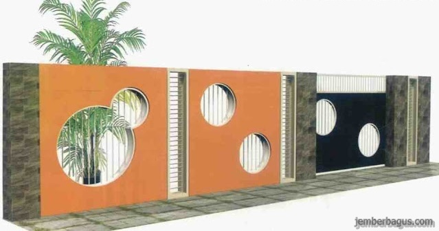 Model Pagar Rumah Unik dan Minimalis