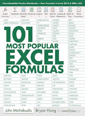 [Free ebook]101 Most Popular Excel Formulas: MyExcelOnline.com (101 Excel Series Book 1)-John Michaloudis