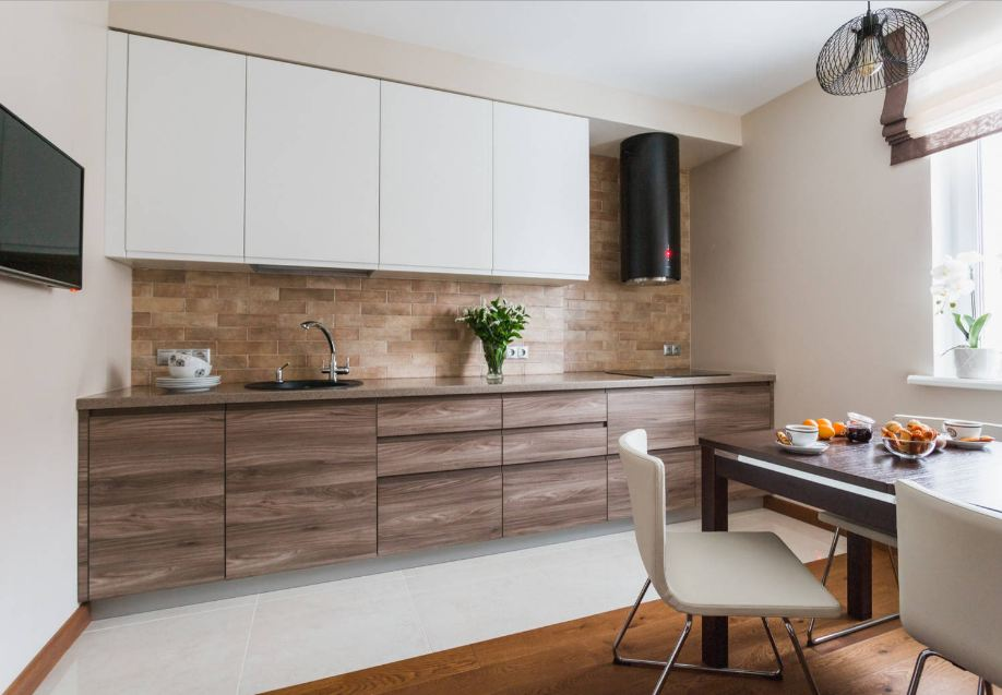 One-Wall Kitchen Design for Small Space - Bahay OFW