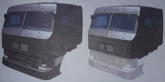 Варіант броньованої кабіни автомобіля Volvo