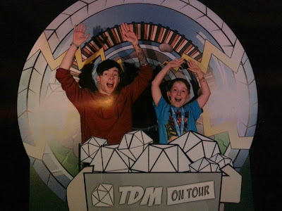 Official DanTDM Tour Photograph