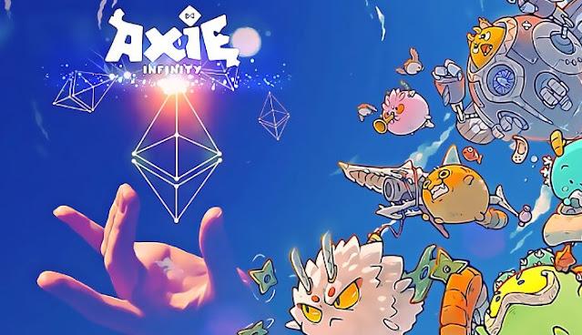 Game NFT Terbaik  Axie Infinity (AXS)
