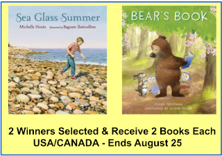 SEA GLASS SUMMER & BEAR'S BOOK