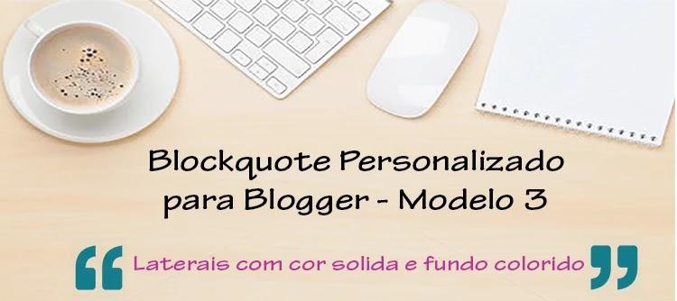 Blockquote personalizado para blog