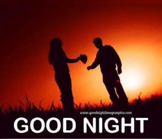 Romantic good night picture for whatsapp