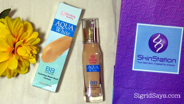 Blushing Beauty Aqua White BB Cream from Skin Station