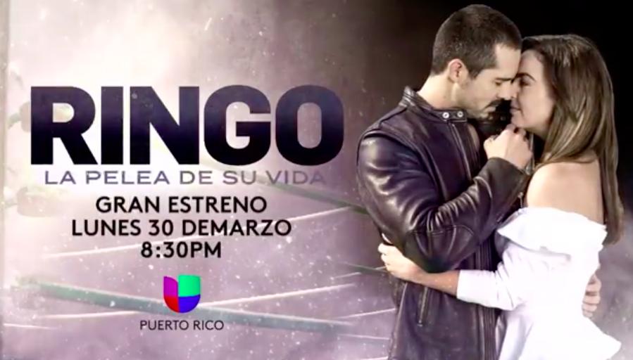 Univisión Puerto Rico estrena telenovela Ringo.