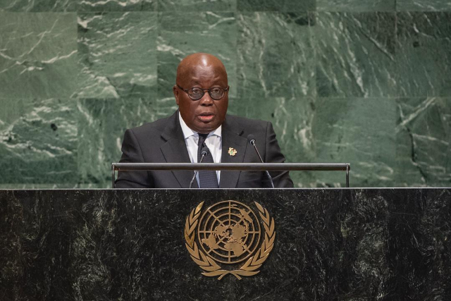 Akufo-Addo attends 74th session of UN General Assembly